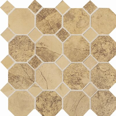 "Daltile Aspen Lodge 12"" x 12"" Mosaic Field Tile in Golden Ridge"