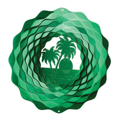Palm Tree Wind Spinner