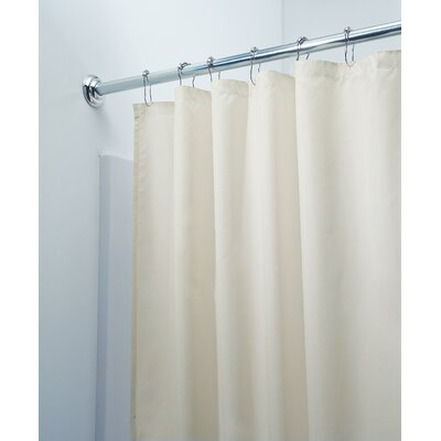 InterDesign Waterproof Shower Curtain/Liner in Sand