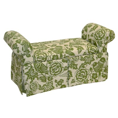 Skyline Furniture Canary Skirted Storage Bench