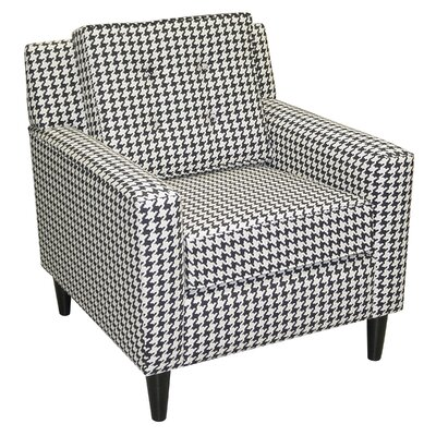 Cube Fabric Lounge Chair