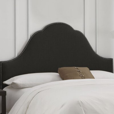 Nail Button Arch Upholstered Headboard