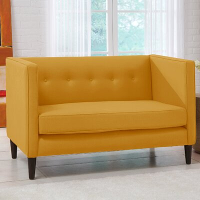 Skyline Furniture 5 Button Chaise Loveseat