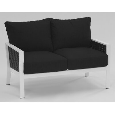 Koverton Parkview Woven Deep Seating Loveseat with Cushions