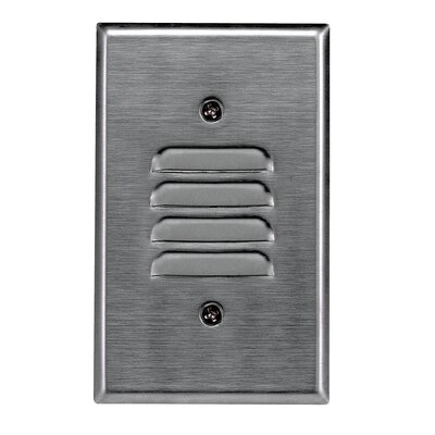 Royal Pacific Mini Step Light in Brushed Aluminium
