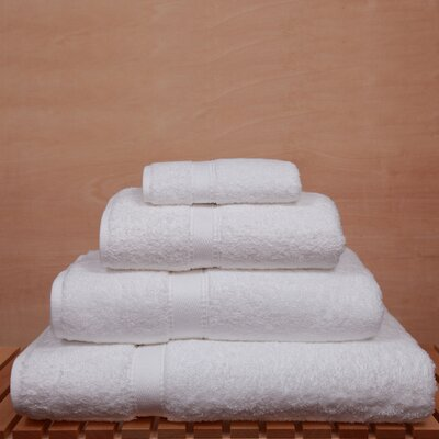 Linum Home Textiles Luxury Hotel and Spa 4 Piece Towel Set