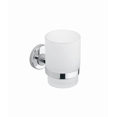 Moda Collection Silver Tumbler Holder in Chrome
