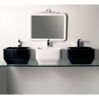 Moda Collection Summer Vessel Sink in White