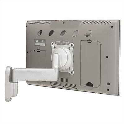 "Chief Manufacturing Small Single Arm Wall Mount w/ 10"" Extension for 10"" - 32"" TVs"