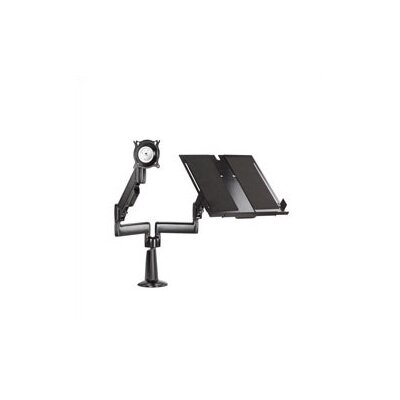 Chief Manufacturing Height-Adjustable Monitor / Laptop Dual Swing Arm Desk Mount