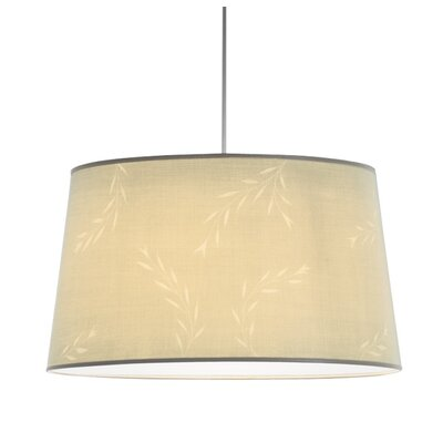 ILEX Lighting Jewel Drum Pendant with White Cord