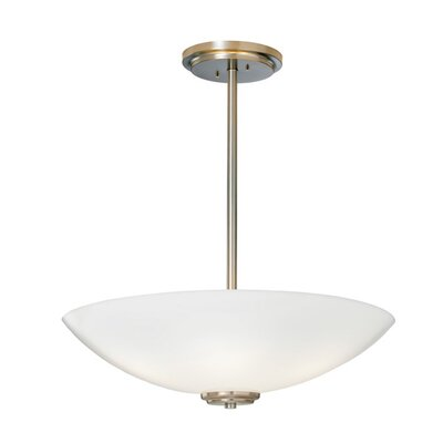ILEX Lighting Miro Bowl Pendant with Single Stem