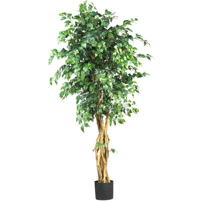 "Nearly Natural 72"" Silk Palace Style Ficus Tree"