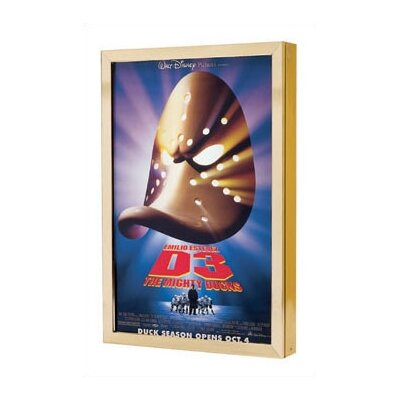 Bass Posterlite Series Rear Illuminated Poster Marquees