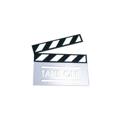 Clapboard Metal Wall Decor