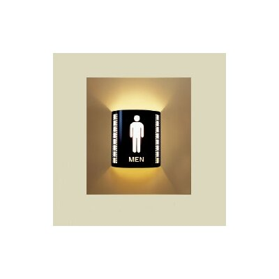 Men's Room Wall Sconce