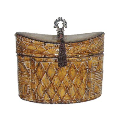 Sterling Industries Harlequin And Tassel Box