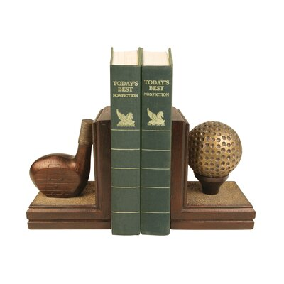 Sterling Industries Two Piece Bruntsfield Links Bookend Set