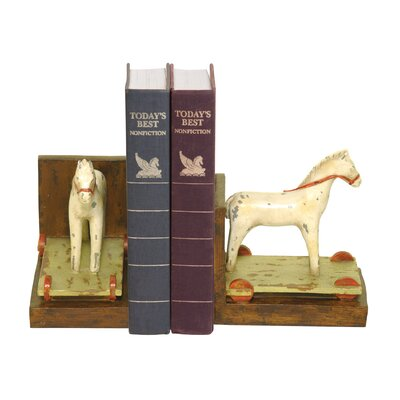 Sterling Industries Childs Pony Bookends (Set of 2)