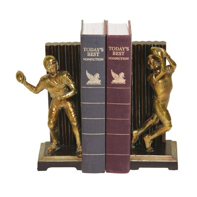 Sterling Industries Two Piece Vintage Touchdown Bookend Set