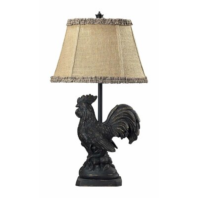 Sterling Industries Rooster Table Lamp in Braysford Black