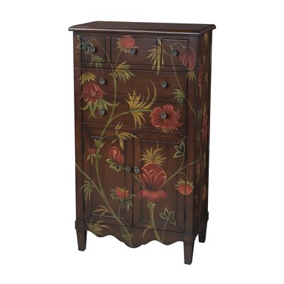 Sterling Industries Floral Console Table