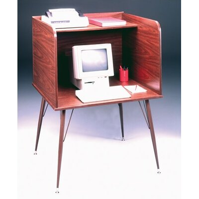 Ironwood General Single Laminate Computer Study Carrel