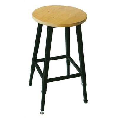 Ironwood Height Adjustable Stool with Footring