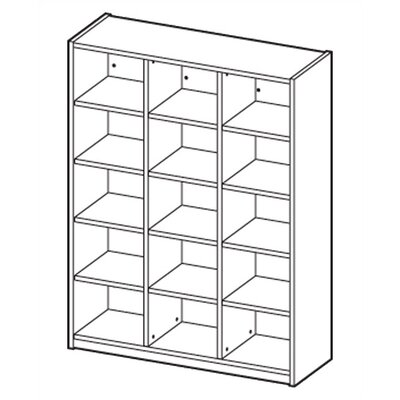 Ironwood Cubby Hole Storage