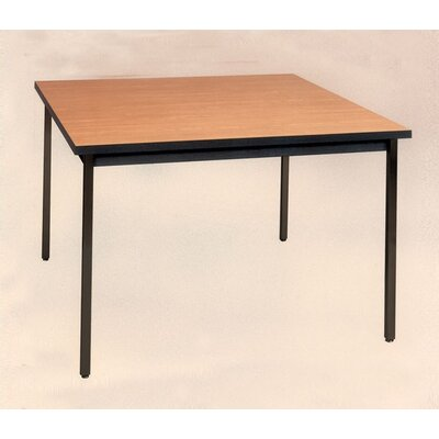 Ironwood Square Welded Frame Table