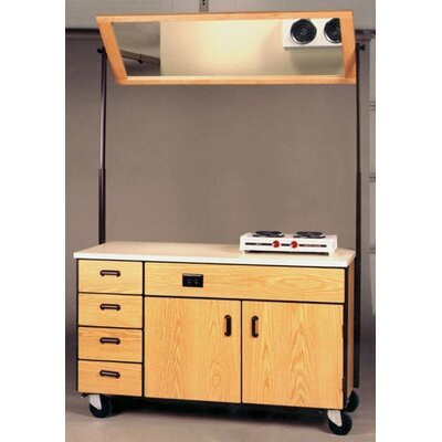 Ironwood 4000 Series Instructor Mobile Cabinet Mirror