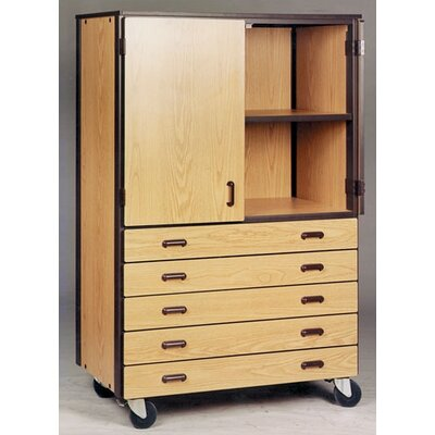 Ironwood 4000 Series Door/Drawer Storage Mobile Cabinet