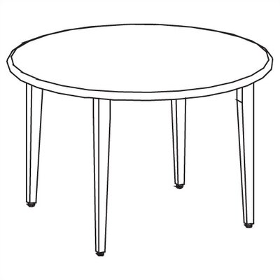 Ironwood Library 3000 Round Study Table