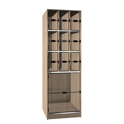 Ironwood Grill Door Music Storage: 10 Compartments