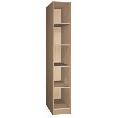 Ironwood Open Music Storage: 5 Equal Compartments