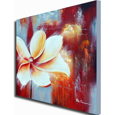 White Walls 'Singled Out' Canvas Art