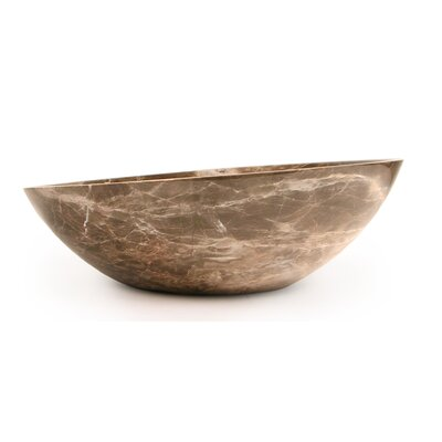 D'Vontz Slanted Sphere Vessel Bathroom Sink