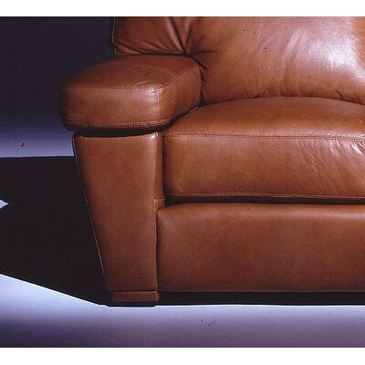 Omnia Furniture Prescott Leather Sofa