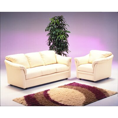 Leather Living Room Sets on Leather Of The Salerno Leather Living Room Set  This Living Room Set