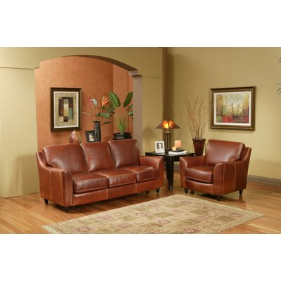 Great Texas 3 Seat Leather Sofa Set