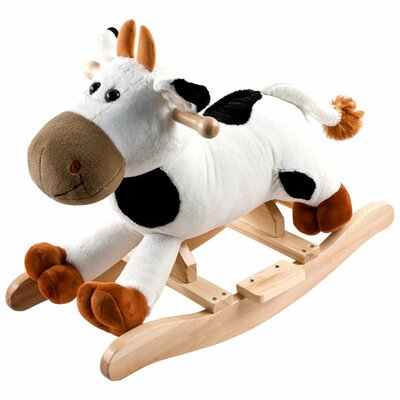 Happy Trails Plush Connie Rocking Cow