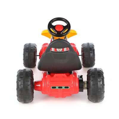 Lil' Rider Racer Battery Powered Go - Kart in Red