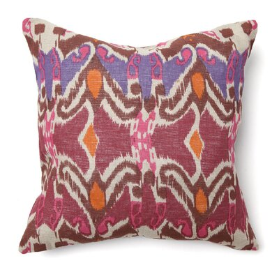 Villa Home Bohemian Chic Ikat Square Pillow