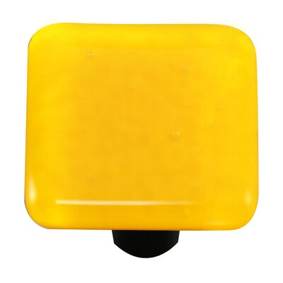 Hot Knobs Solids Cabinet Knob in Sunflower Yellow