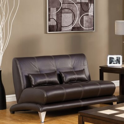 Sewell Leatherette Loveseat