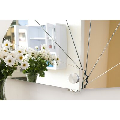 Hokku Designs Sora Modern Fan Mirror