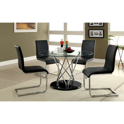 Hokku Designs Crystal 5 Piece Dining Set