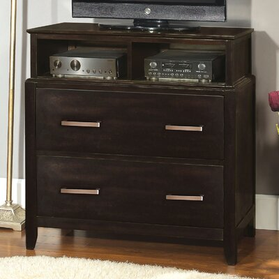 Hokku Designs Cadbury 2 Drawer Media Chest