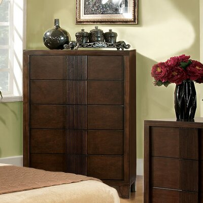 Hokku Designs Triad 5 Drawer Chest