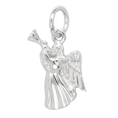 EZ Charms Sterling Silver Angel Charm
